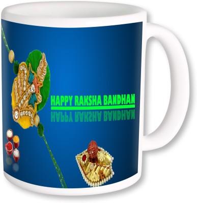 Heyworlds Rakhi Gift for Rakshabandhan 0045 Ceramic Mug