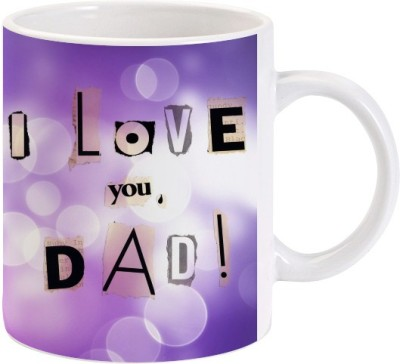 Lolprint Gift for Fathers Day (design 47) Ceramic Mug