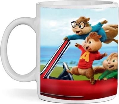 SBBT Three Funny Characters Ceramic Mug