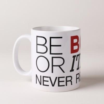 LetterNote Be Bold Combo Ceramic Mug