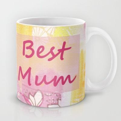 Astrode Best Mum Ceramic Mug