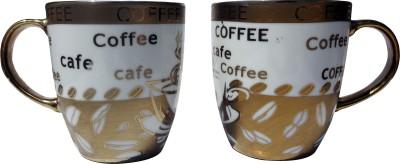 Neos Golden Coffee Ceramic Mug