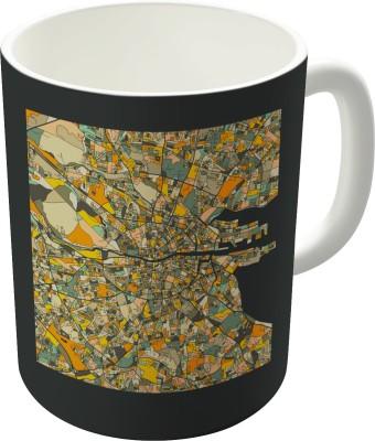 Dreambolic Dublin Map Ceramic Mug