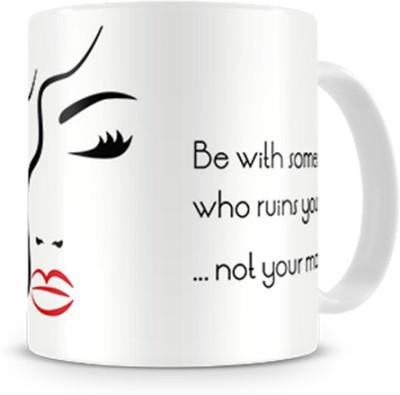 Print Haat Love Quote Ceramic Mug