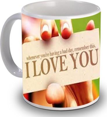 PSK I Love You H1022 Ceramic Mug
