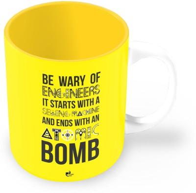 Thinkpot Be Wary Of Engineers Ceramic Mug