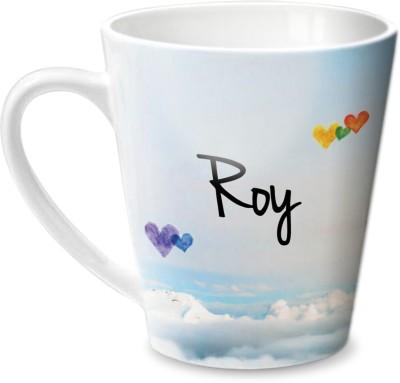 Hot Muggs Simply Love You Roy Conical  Ceramic Mug