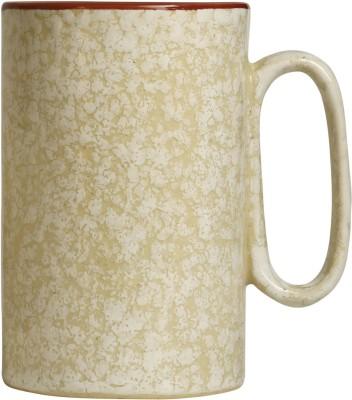 caffeine Coffee  Ceramic in brown Doodle Platform (Set of 1) Ceramic Mug