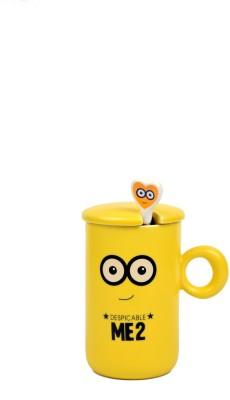 Enfin Homes Despicable Me Yellow Porcelain Mug