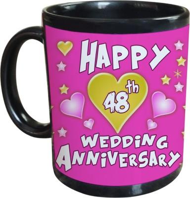 Sajawat Homes 48th Wedding Anniversary Coffee Ceramic Mug