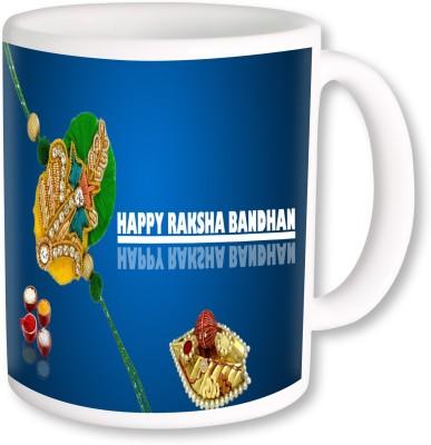 Heyworlds Rakhi Gift for Rakshabandhan 0046 Ceramic Mug