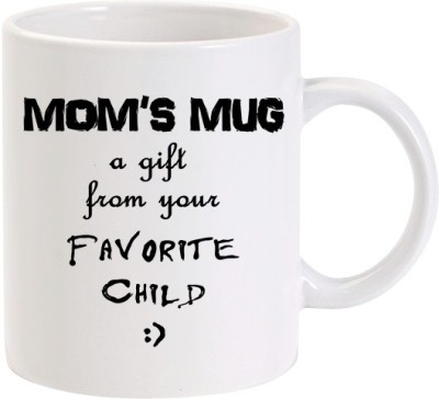 Lolprint 01 Mom's A Gift From Your Favourite Child Ceramic Mug