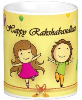 exciting Lives Rakhi Ceramic Mug