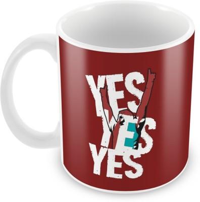 AKUP yes-yes-yes Ceramic Mug