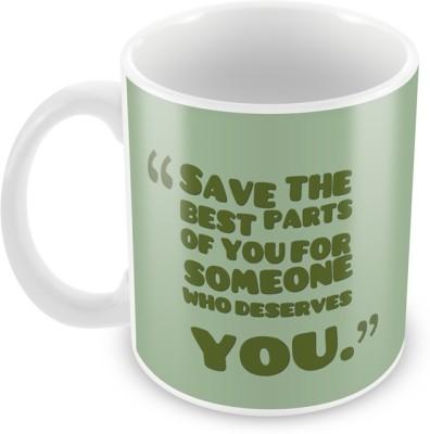 AKUP save-the-best-parts Ceramic Mug