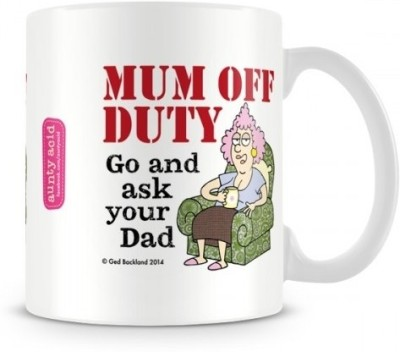 Aunty Acid Mom off duty Ceramic Mug