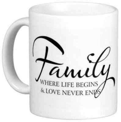 Hainaworld Its Our Family Coffee  Ceramic Mug