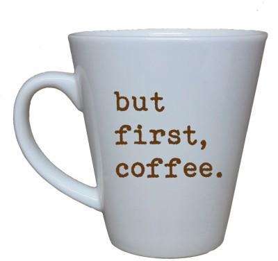 Thelostpuppy Butfirstsmg Ceramic Mug