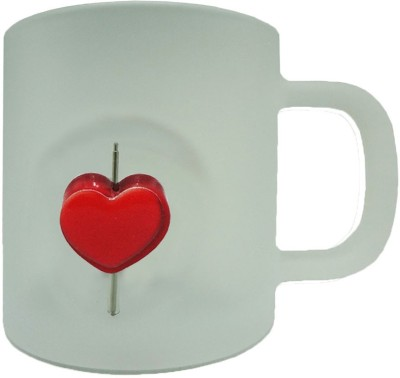 Tuelip GP-3D-FGM-Heart-2101 Glass Mug