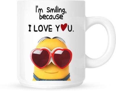 Hainaworld Mini I Love You Ceramic  Ceramic Mug