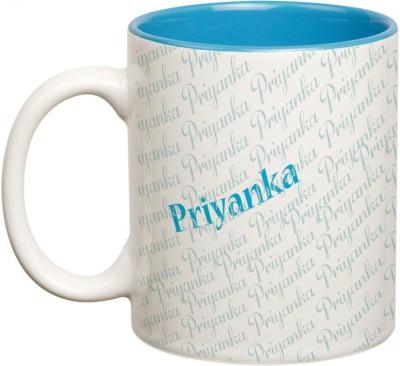 Mugwala Priyanka Name Ceramic Mug