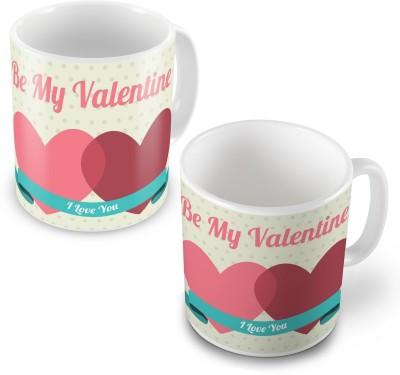 Indian Gift Emporium Be My Valentine Lovely Designer Coffee s Pair 505 Ceramic Mug