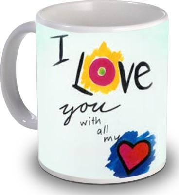 PSK I Love You H150 Ceramic Mug