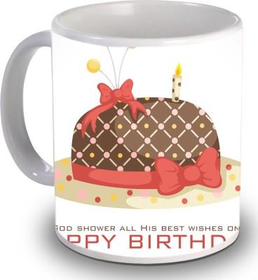Print Helllo Happy Birthday R152 Ceramic Mug