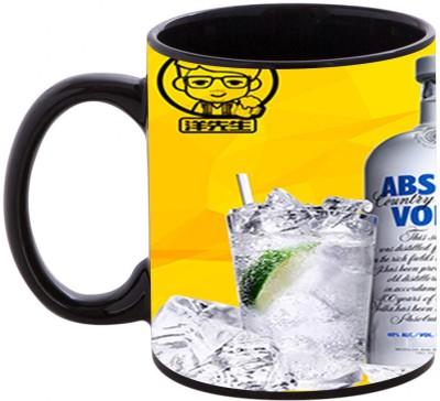 Shopmania Designer Printed BLK-39 Coffee Ceramic Mug