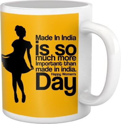 Tiedribbons Made In India Coffee Ceramic Mug