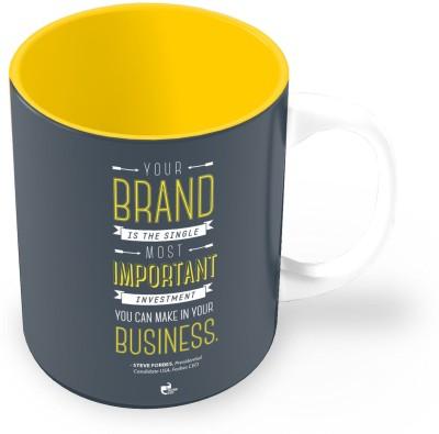 Thinkpot Your Brand - Steve Forbes Ceramic Mug