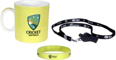 ICC Australia Cricket Team T20 World Cup Official Cheering Souvenier Kit Ceramic Mug
