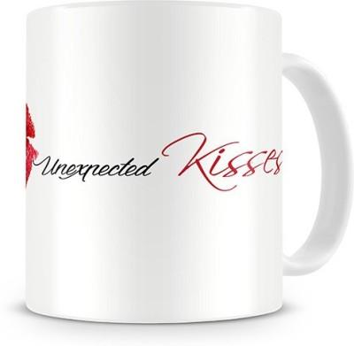 Print Haat Love Unexpected Kisses Ceramic Mug