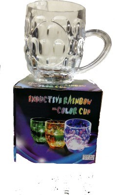 Cutebaby Inductive Rainbow Colour Plastic Mug(100 ml) at flipkart