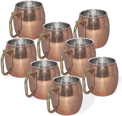 AsiaCraft MOSCOWMUG008-8 Copper Mug