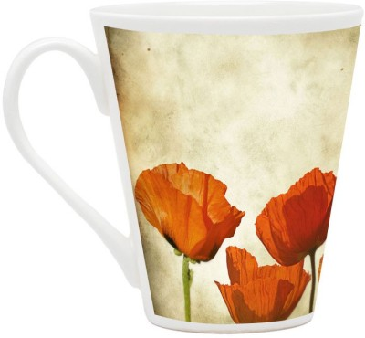 HomeSoGood Flowers Enjoying The Sunlight Ceramic Mug