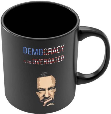 PosterGuy Democracy Is So Overrated House Of Cards Frank Underwood Inspired Kevin Spacey Ceramic Mug