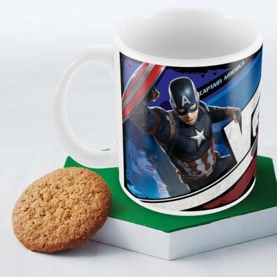 Marvel Civil War-captain vs iron man Officially Licensed (pack of 1) Ceramic Mug