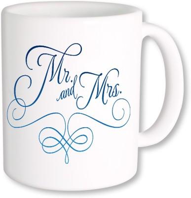A Plus mr and mrs 01.jpg Ceramic Mug