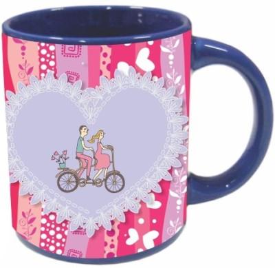 Printland Be My Ride Valentine Day PMBu5042 Ceramic Mug