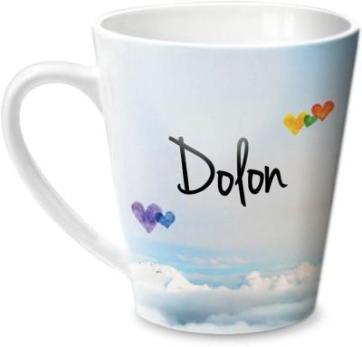 Hot Muggs Simply Love You Dolon Conical  Ceramic Mug