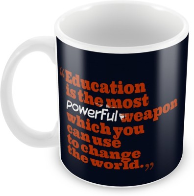 AKUP Education-Is-Most Ceramic Mug