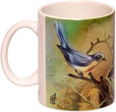 IMFPA Birds & Trees Ceramic Mug