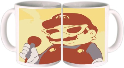 Shopkeeda Mario Bros Ceramic Mug