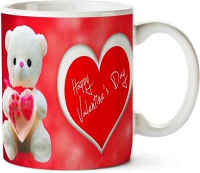 Pentagraphics Teddy Love Valentines Day Ceramic Mug