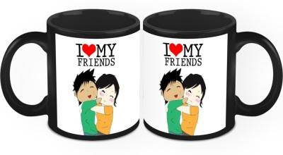 HomeSoGood Life Is Better With Friends Ceramic Mug