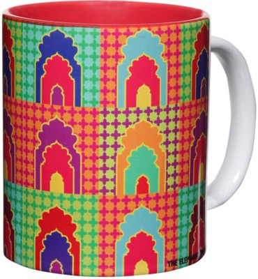 The Elephant Company Mehrab New Ceramic Mug