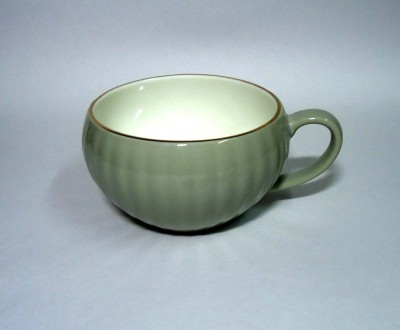 Gutargoo Lotus Shaped Soup Bowl Ceramic Mug