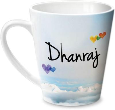 Hot Muggs Simply Love You Dhanraj Conical  Ceramic Mug