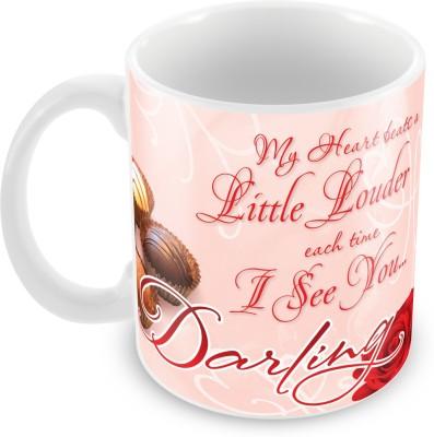 Fashion Envoy Charming Valentine  Ceramic Mug